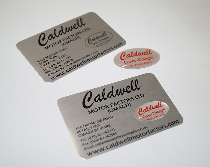 Metal business cards co tyrone true colours marketing true metal reheart Gallery