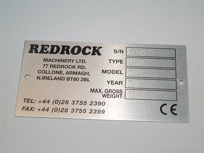 machine name plates